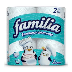 Бумажные полотенца Familia