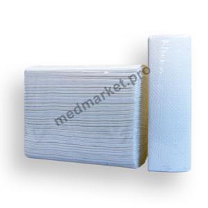 Листовые полотенца Z-сложения 2 слоя 150 листов 22*23 см оптом