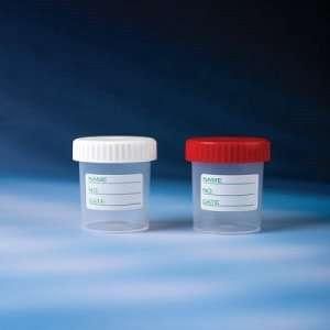 Контейнер 60 мл стерильный с полиэтиленовой крышкой индивидуальная упаковка с этикеткой оптом